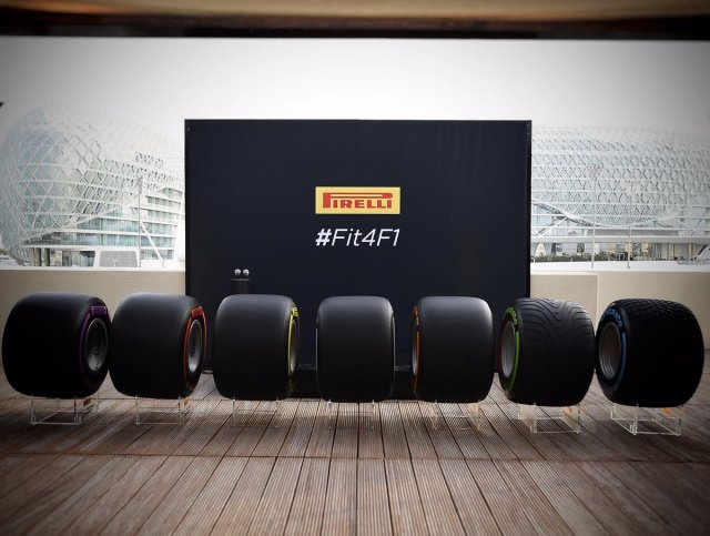 Quite the intimidating lineup for 2017. #Fit4F1 #PZero #AbuDhabiGP © 2016 Pirreli & C. S.p.A.