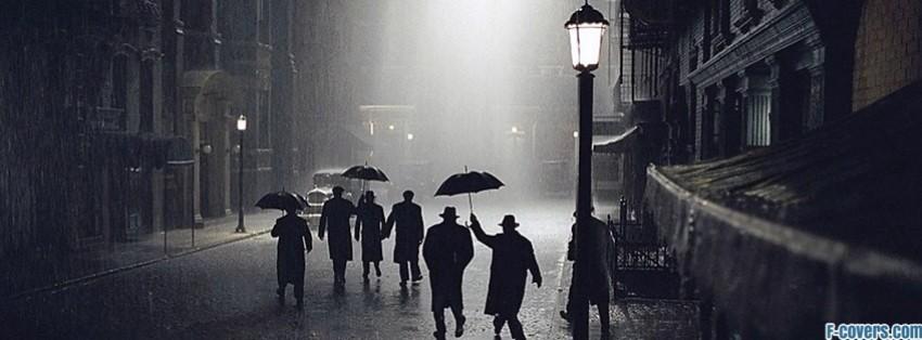 Vintage Rain Facebook Cover Timeline Photo Banner For Fb