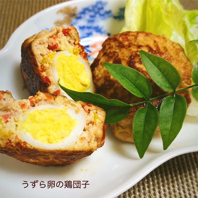 うずら卵の鶏団子