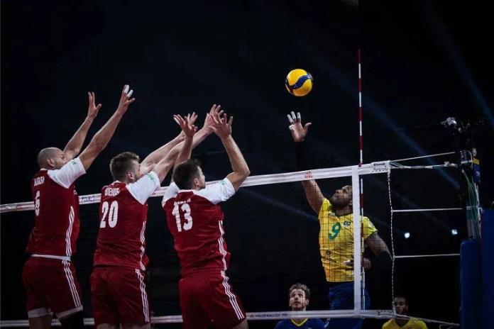 Leal vê poloneses finalizarem contra o Brasil na decisão da Liga das Nações