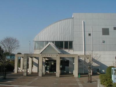 藤沢市にある市営プール『秋葉台公園プール』