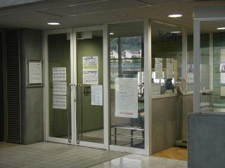 トレーニング室入口