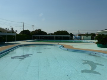 八部公園 屋外幼児用プール