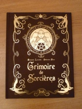 Coup de cur sur le salon  Grimoire de Sorcires  Benjamin Lacombe  Monde du Livre