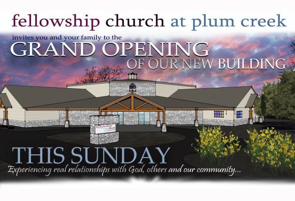 Church Building Project - Fellowship Plum Creek