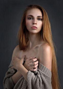 緊張するモデル
