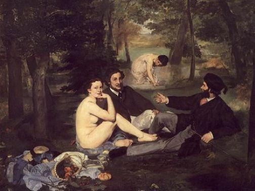 1863エドゥアール・マネ 草上の昼食