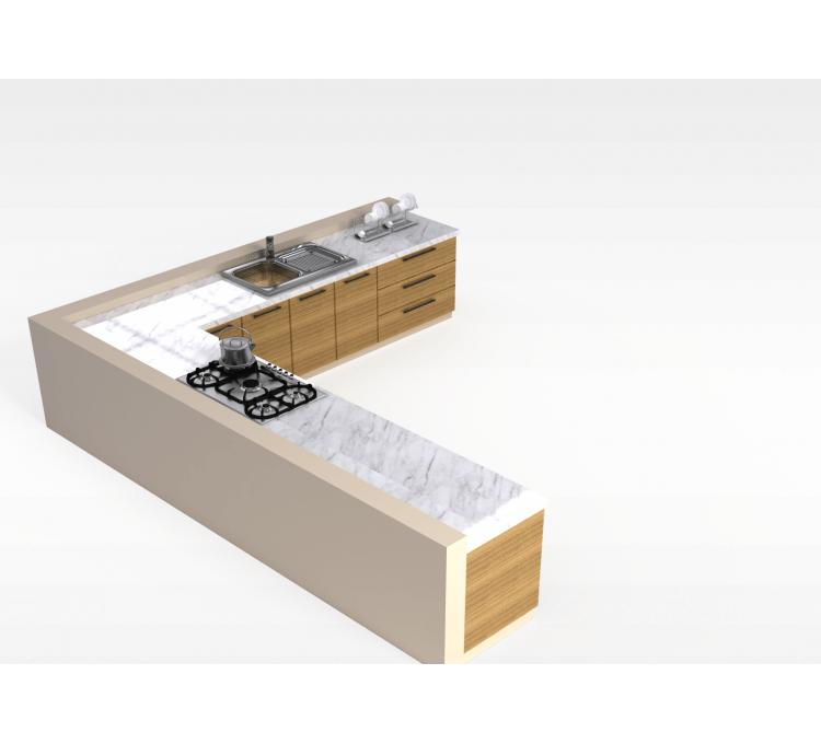 kitchen corner cabinets bench style tables 3d厨房角柜模型 厨房角柜3d模型下载 3d厨房角柜模型免费下载 厨房角柜模型