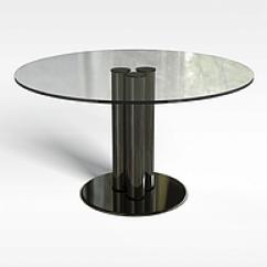 Round Glass Kitchen Table Play Dishes 简约圆形玻璃桌子模型 简约圆形玻璃桌子3d模型下载 3d学苑 3d圆形玻璃桌子模型