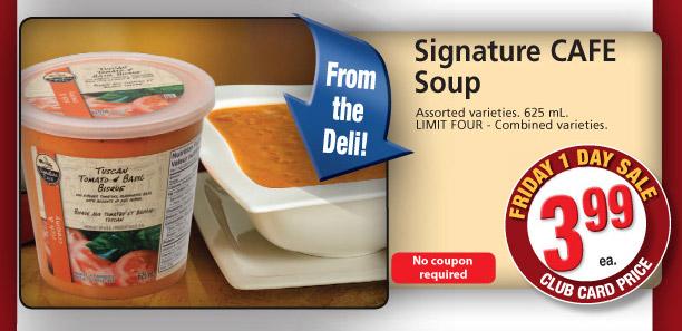 Signature CAFE  Soup