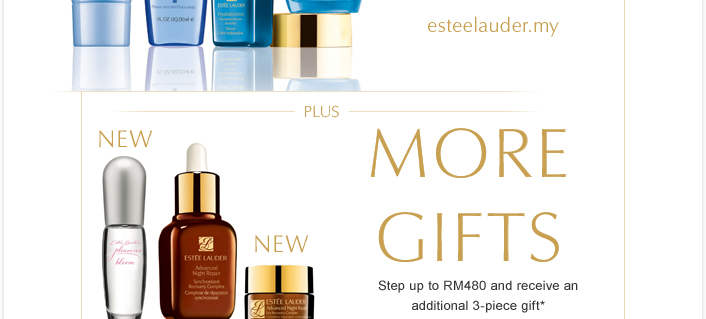 Estee Lauder twice a year Gift With Purchase promotion