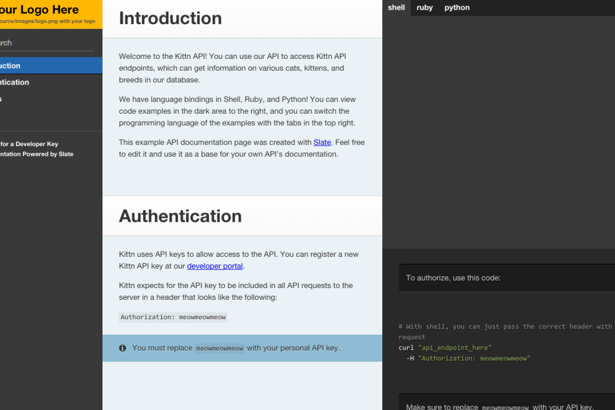 Rest api in php jnanendra veer writing api documentation with slate malvernweather Image collections