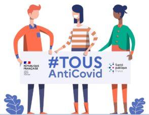 TousAntiCovid, DépistageCovid, MesConseilsCovid : 3 outils numériques contre la Covid-19