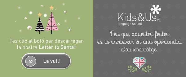 letter to santa Kids&us