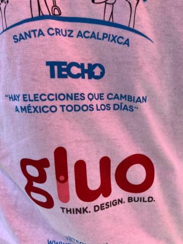 Playera Techo y Gluo