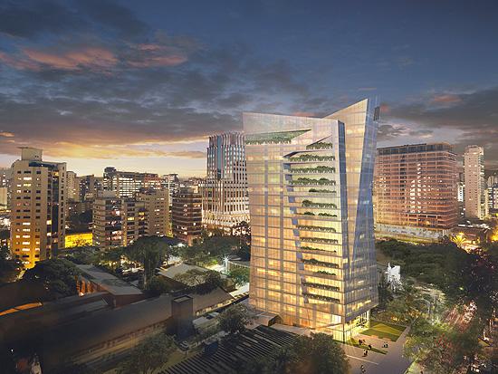 Prédio de luxo em construção no Itaim Bibi deve ficar pronto no ano que vem