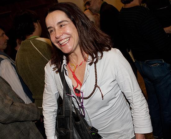 A atriz Lucélia Santos