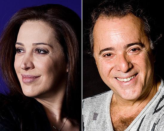 """Claudia Raia e Tony Ramos foram liberados após novo adiamento de """"Guerra dos Sexos"""""""