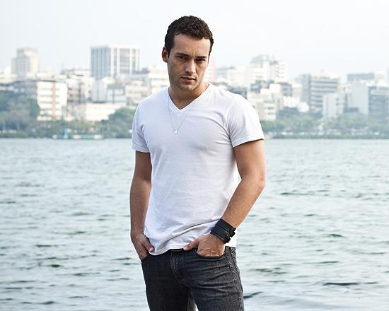 O ator Rodrigo Andrade