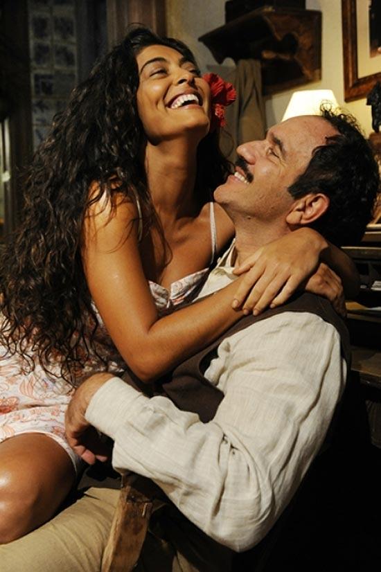 Gabriela (Juliana Paes) e Nacib (Humberto Martins)