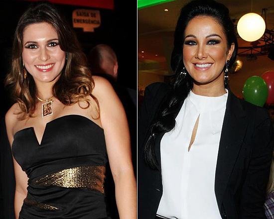 Livia Andrade e Helen Ganzaroli brigam por preferência de Silvio Santos