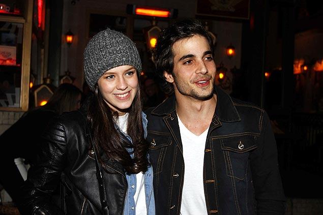 Sophia Abrahão ao lado de seu namorado, o canto Fiuk