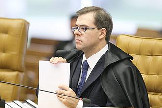 O ministro Jose Antonio Dias Toffoli durante sessão do STF