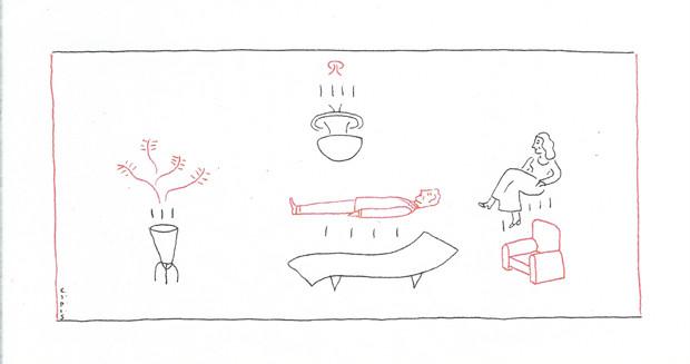 Ilustração de Marcelo Cipis para coluna de Drauzio do dia 02 de dezembro