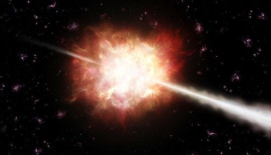 Explosão ocorreu 600 milhões de anos depois do Big Bang