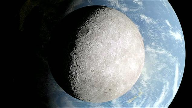 Imagens da Nasa revelam lado oculto da Lua