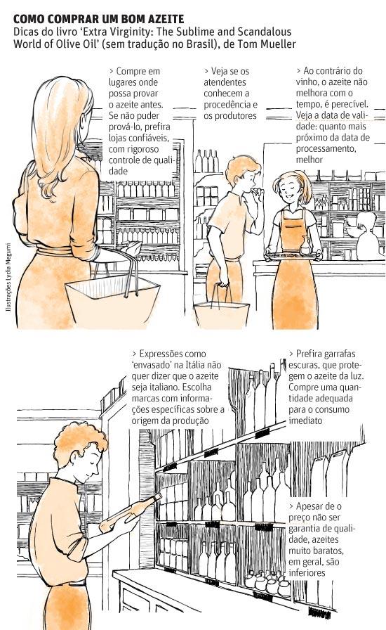 COMO COMPRAR UM BOM AZEITE Dicas do livro 'Extra Virginity: The Sublime and Scandalous World of Olive Oil' (sem tradução no Brasil), de Tom Mueller