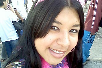 Eloá Cristina Pimentel, que teve morte cerebral atestada por médicos do hospital municipal de Santo André (Grande São Paulo)