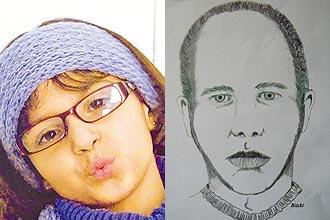Rachel foi encontrada morta em uma rodoviária de Curitiba; Policia Civil divulga retrato falado do principal suspeito do crime
