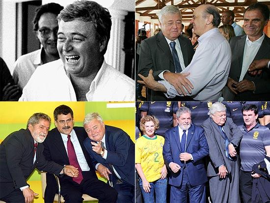 Ricardo Teixeira em vários momentos como presidente da CBF; clique na foto e veja galeria