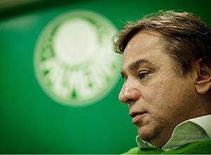 O presidente do Palmeiras, Arnaldo Tirone