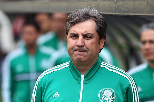 Gilson Kleina, em jogo do Palmeiras contra o Paysandu