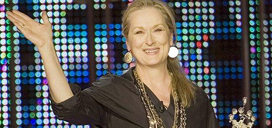 Atriz Meryl Streep será homenageada pelo próximo Festival de Roma