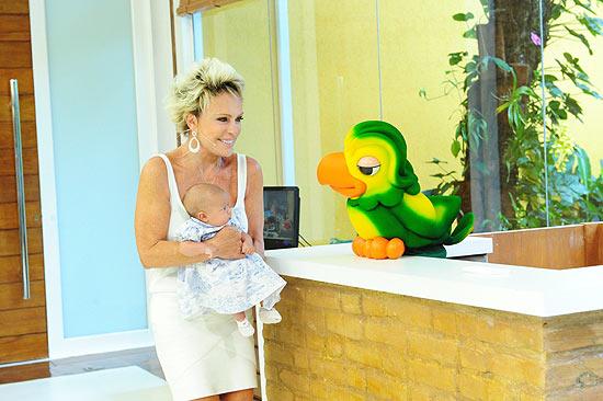 A apresentadora Ana Maria Braga diz que tem fôlego para mais cinco anos de programa