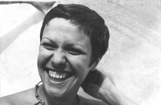 A cantora Elis Regina, que está tendo discos seus relançados