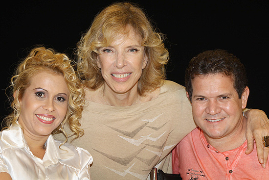 Marília Gabriela recebe Joelma e Chimbinha da Banda Calypso neste domingo
