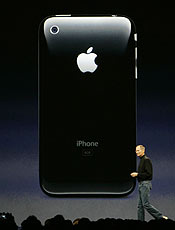 Executivo-chefe da Apple, Steve Jobs, exibiu novo produto nos EUA