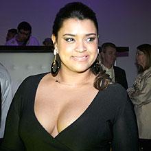 """""""Eu quero o G3"""", disse Preta Gil, no lançamento do iPhone 3G em São Paulo"""