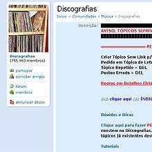 Orkut deletou links da sua maior comunidade dedicada a compartilhamento de músicas