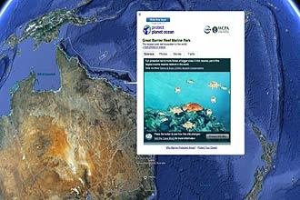 Serviço de mapas 3D Google Earth lança o Ocean, que permite a visualização de oceanos e mares, de acordo com escolha do internauta