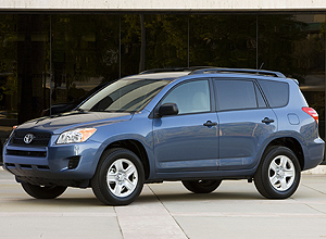 Modelos de 2005 a 2010 do RAV4 da Toyota podem ter problema em suspensão traseira
