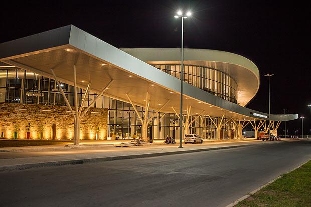 O Aeroporto Internacional de Nacala, obra da Odebrecht em Moçambique
