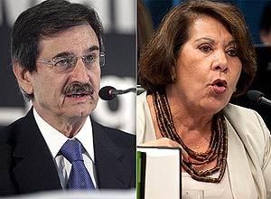 Ministro Cezar Peluso e a corregedora do CNJ, Eliana Calmon, desentenderam-se sobre as atribuições do conselho