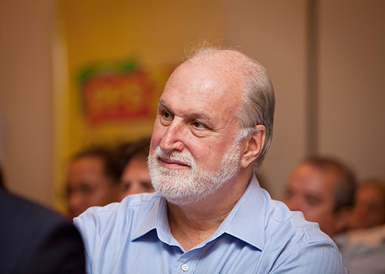 Vereador Ricardo Young (PPS) durante reunião do partido