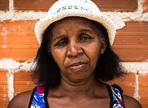 Luiza de Franca Sousa, 50, desempregada, que mora na pequena cidade de Demerval Lobao, interior do Piauí