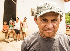 Antônio da Conceição Sousa, 38, vive na pequena cidade de Joaquim Pires, interior do Piauí